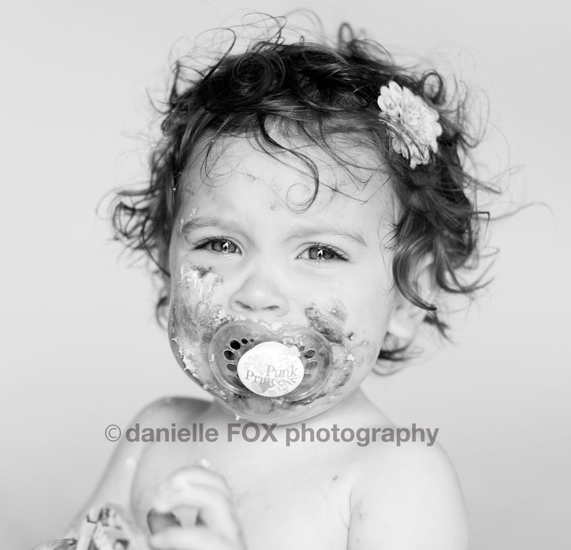 Baby crying newborn, maternity baby photographer, danielle fox photography