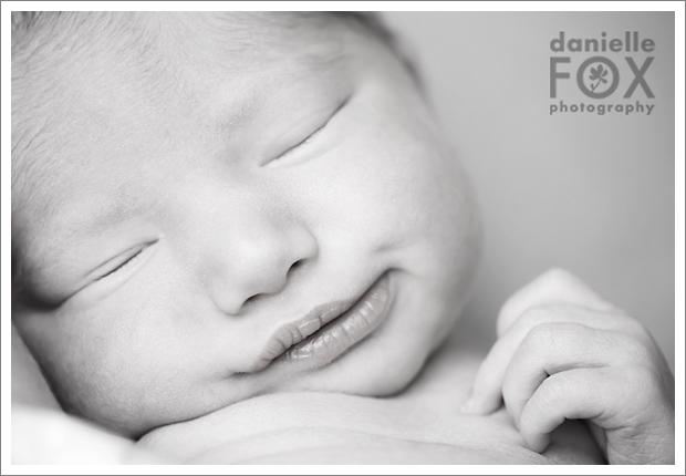 Newborn baby b