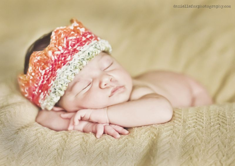 Newborn baby photography in des moines iowa